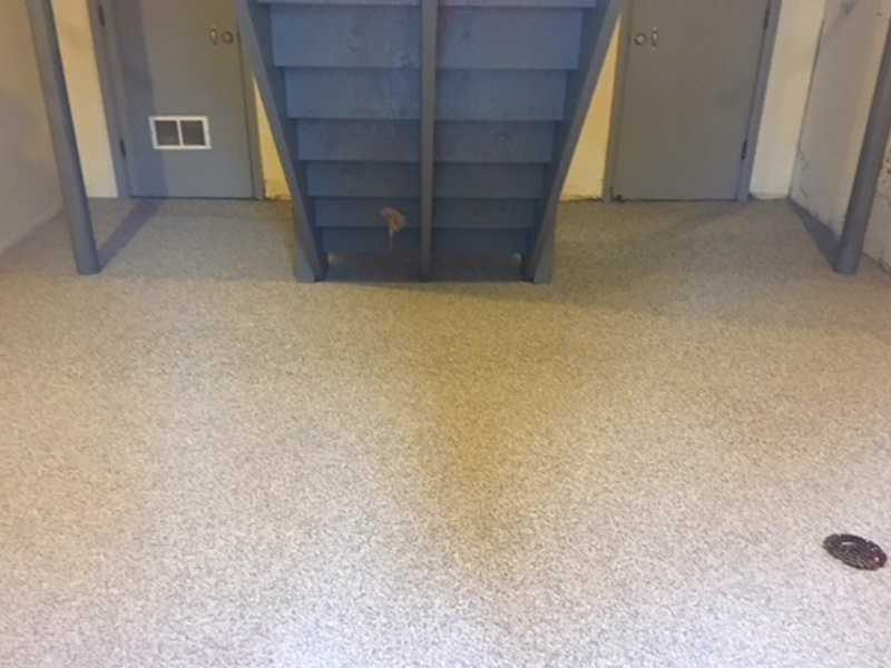 C & M Concrete Rubaroc Basement Floor-6