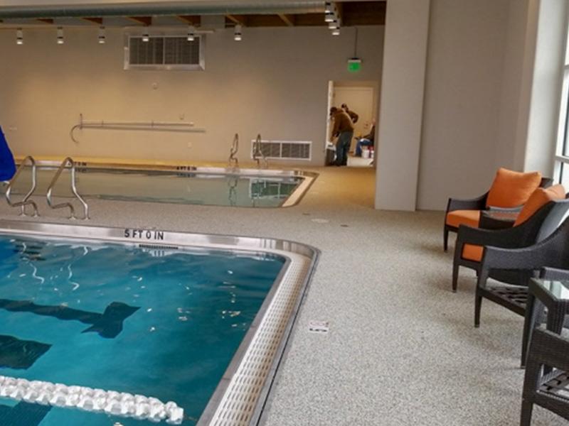 C & M Concrete Rubaroc Indoor Pool -1