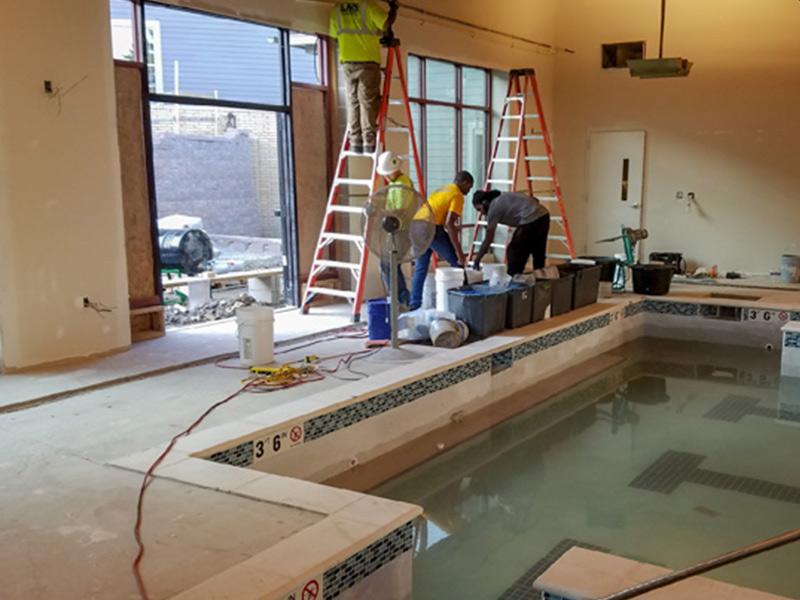 C & M Concrete Rubaroc Indoor Pool -14
