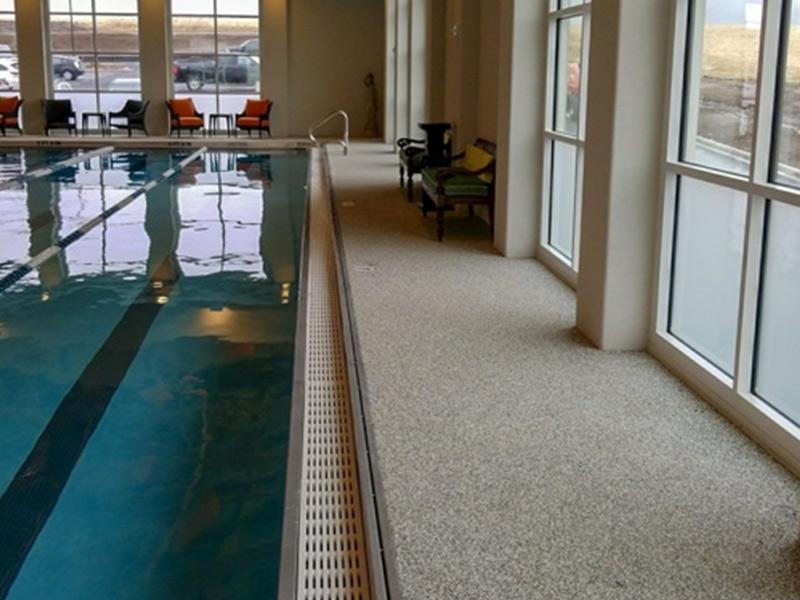 C & M Concrete Rubaroc Indoor Pool -3