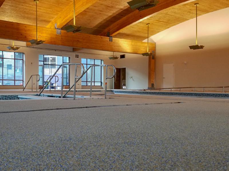C & M Concrete Rubaroc Indoor Pool -5