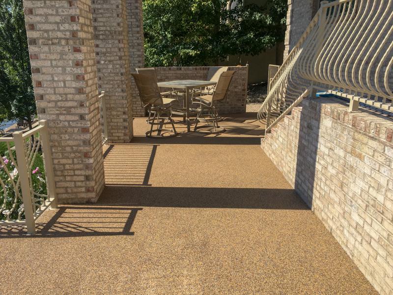 C & M Concrete Rubaroc Patio-1