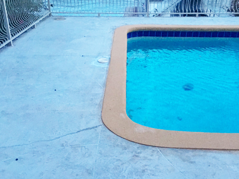 C & M Concrete Rubaroc Pool Deck 1