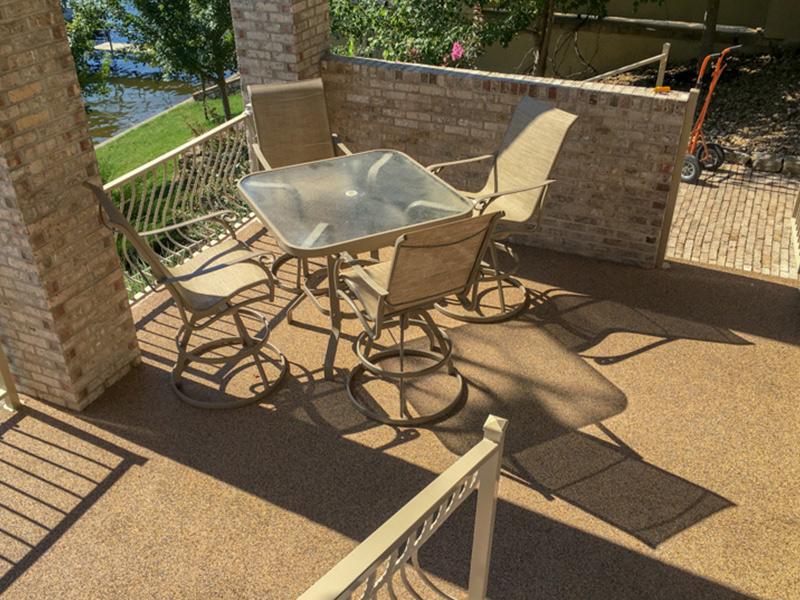C & M Concrete Rubaroc Pool Deck 10