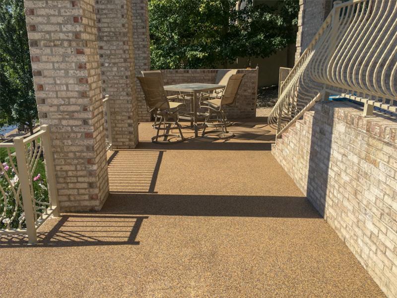 C & M Concrete Rubaroc Pool Deck 11