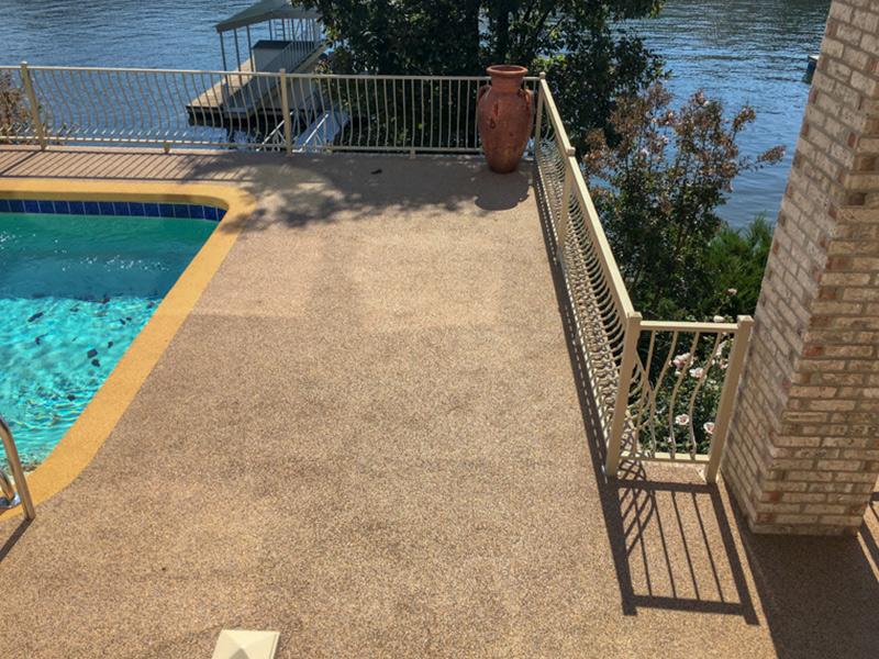 C & M Concrete Rubaroc Pool Deck 13