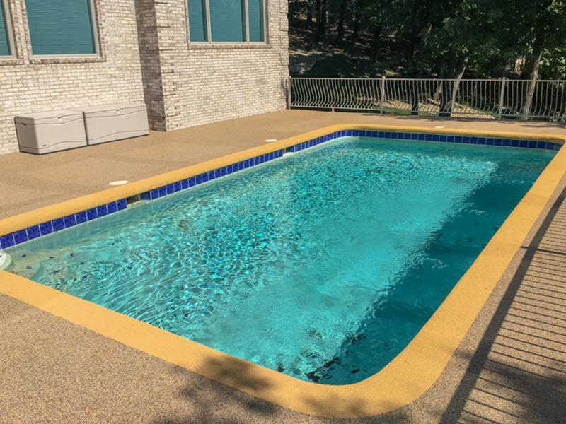 C & M Concrete Rubaroc Pool Deck 14