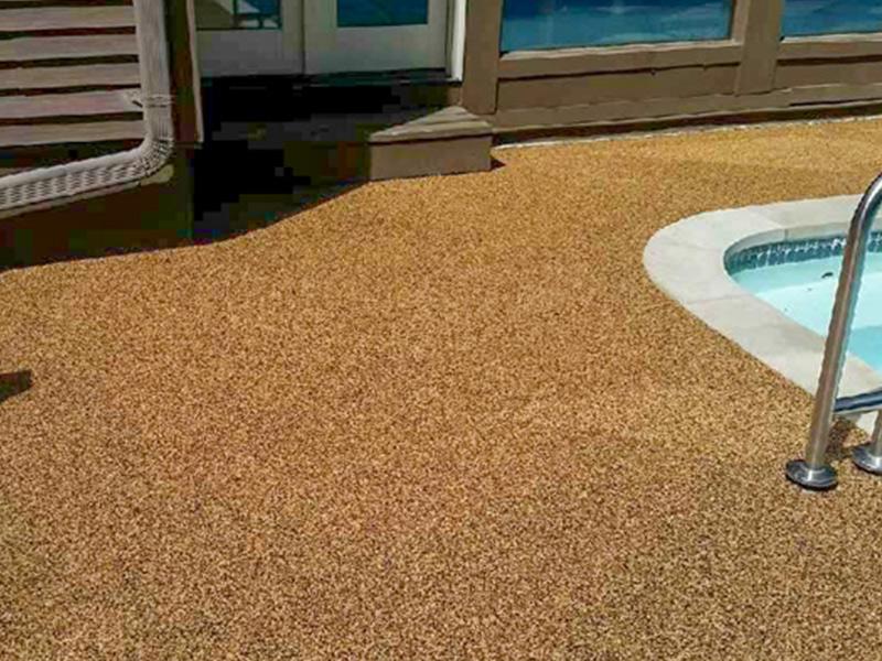 C & M Concrete Rubaroc Pool Deck-15