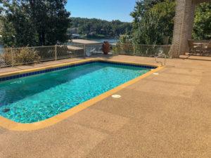C & M Concrete Rubaroc Pool Deck 16