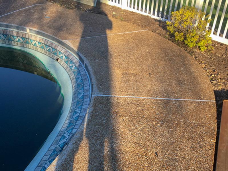 C & M Concrete Rubaroc Pool Deck 2