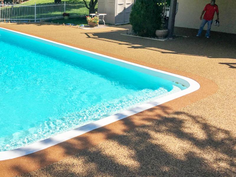 C & M Concrete Rubaroc Pool Deck-2