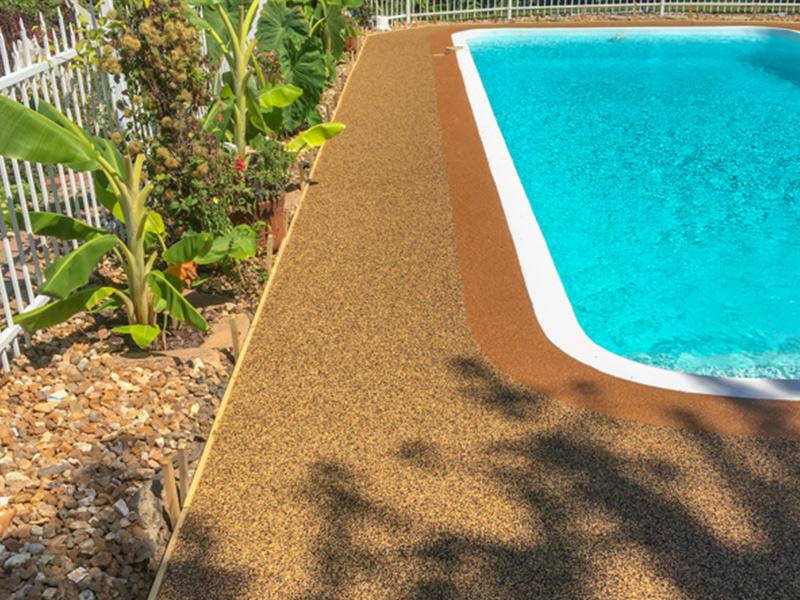C & M Concrete Rubaroc Pool Deck-4