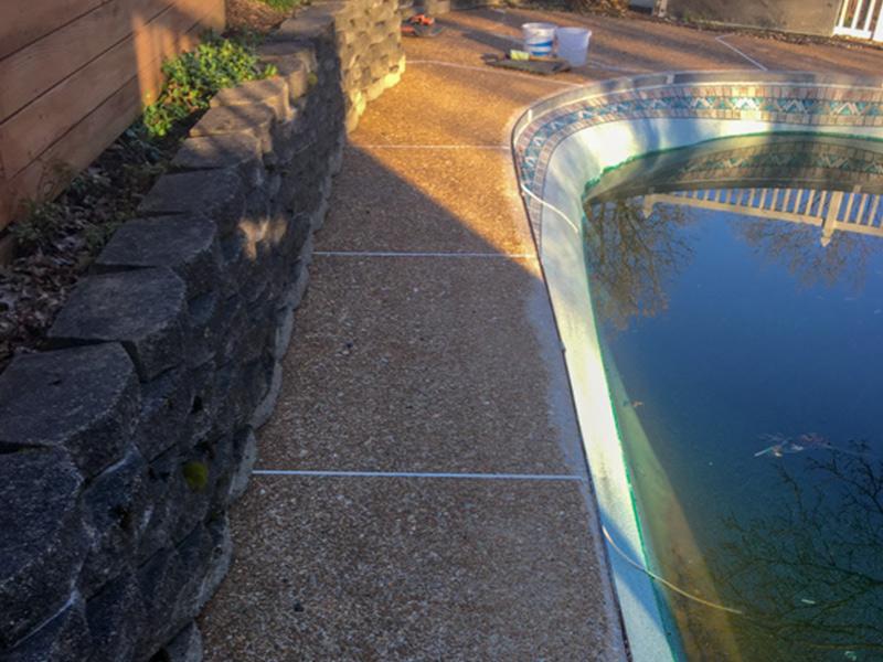 C & M Concrete Rubaroc Pool Deck 5