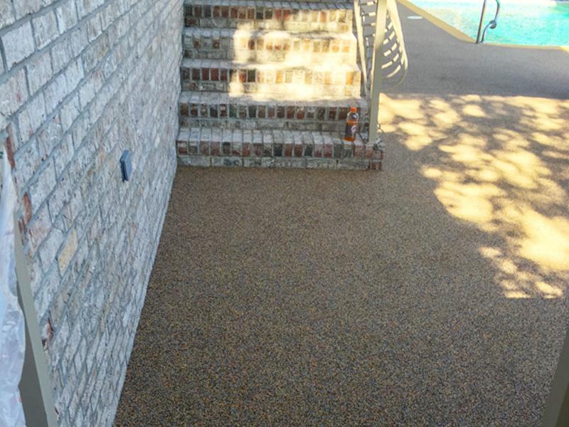 C & M Concrete Rubaroc Pool Deck 6