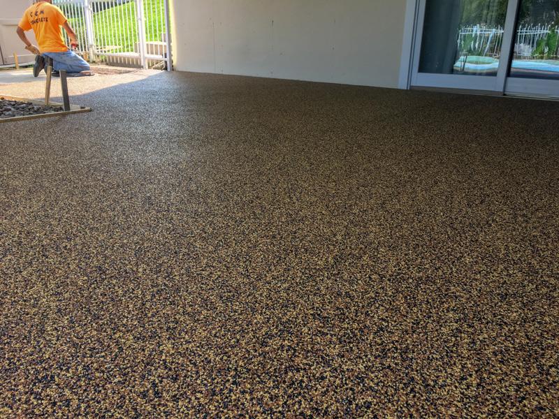 C & M Concrete Rubaroc Pool Deck-7