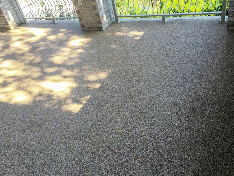 C & M Concrete Rubaroc Pool Deck 8