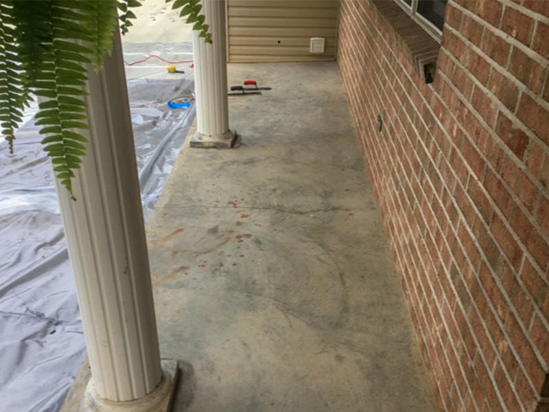 C & M Concrete Rubaroc Porch-2