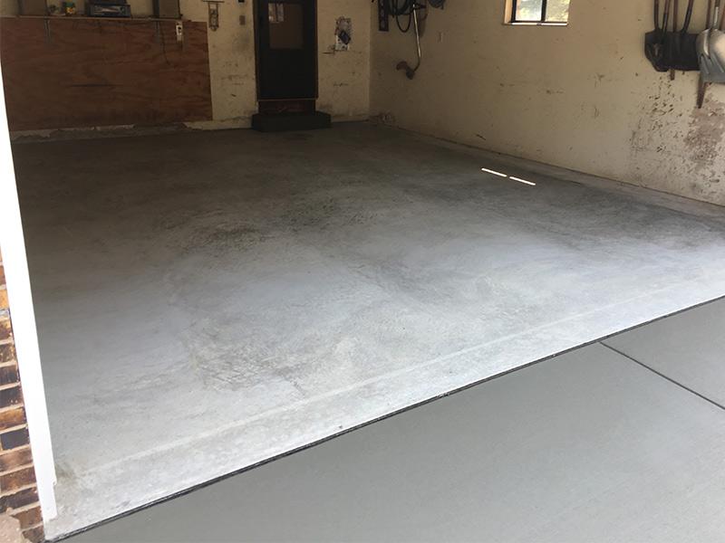 C an M Concrete Garage Sidewalk Driveway 11