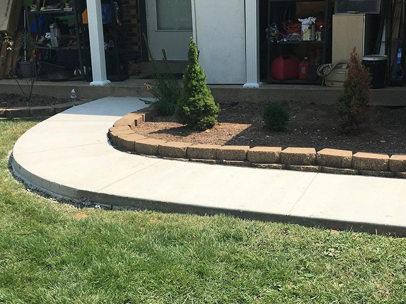 C an M Concrete Garage Sidewalk Driveway 12