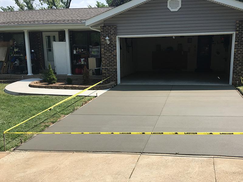C an M Concrete Garage Sidewalk Driveway 13