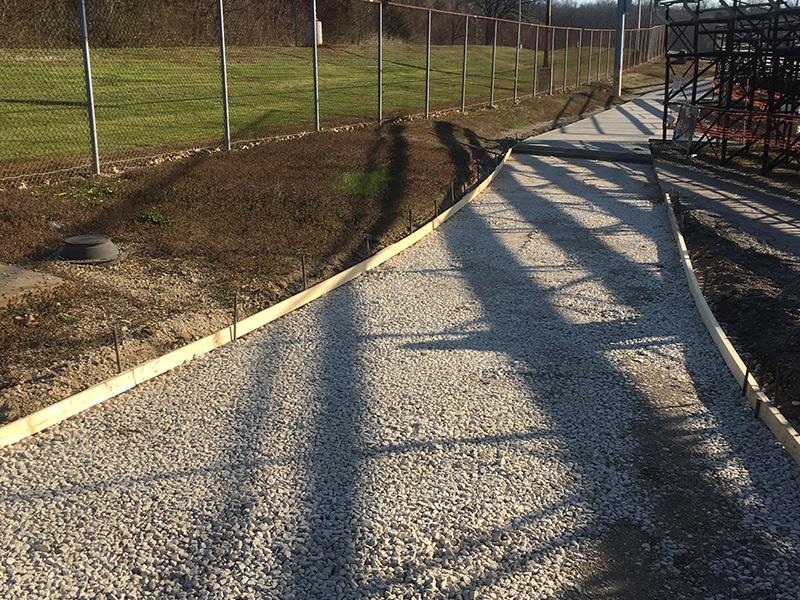C and M Concrete Commercial Pavement -1