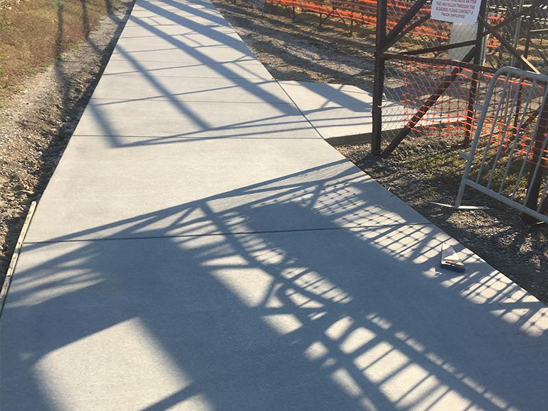C and M Concrete Commercial Pavement -4-1