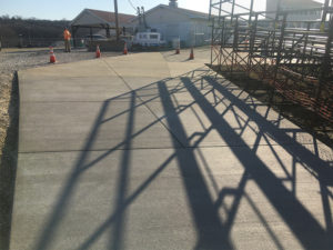 C and M Concrete Commercial Pavement -6
