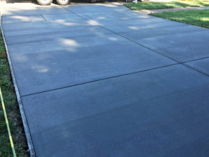 C and M Concrete Driveway Sidewalk -1 -1