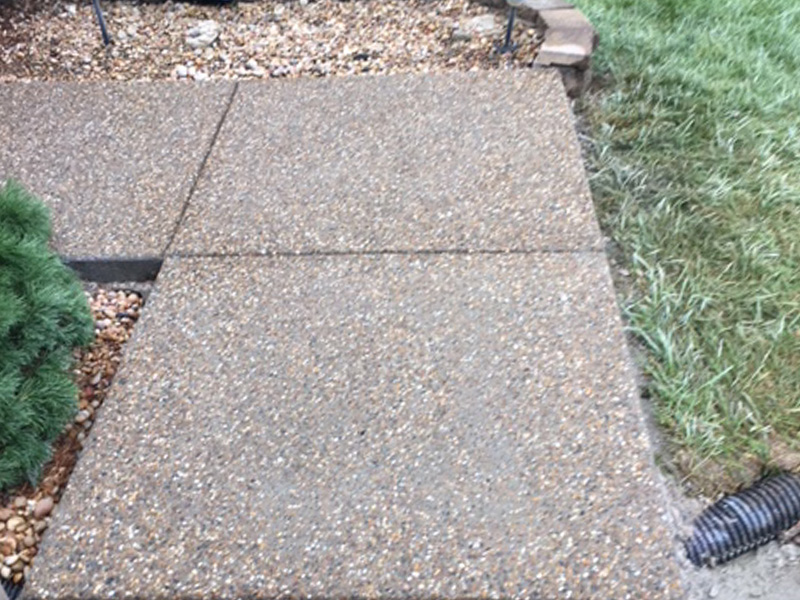 C and M Concrete Glacial Rock Driveway and Sidewalk -4