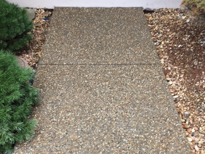 C and M Concrete Glacial Rock Driveway and Sidewalk -5
