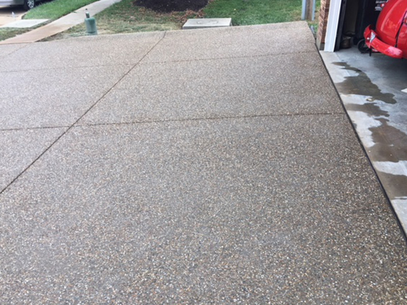 C and M Concrete Glacial Rock Driveway and Sidewalk -6