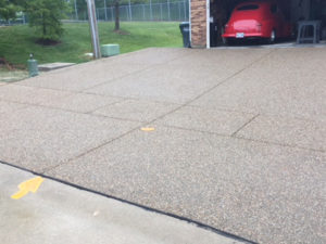 C and M Concrete Glacial Rock Driveway and Sidewalk -8