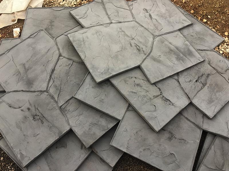 C and M Concrete Slate Patio -1