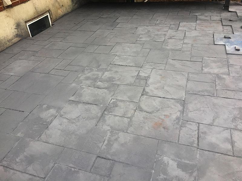 C and M Concrete Slate Patio -4