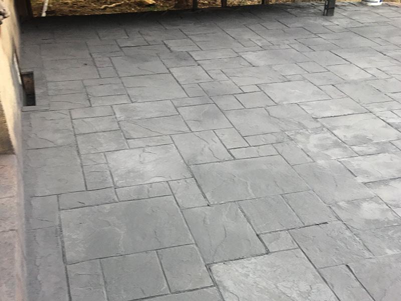 C and M Concrete Slate Patio -6