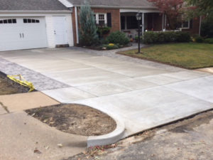 C and M Concrete Stamped Broom Swept Concrete-1