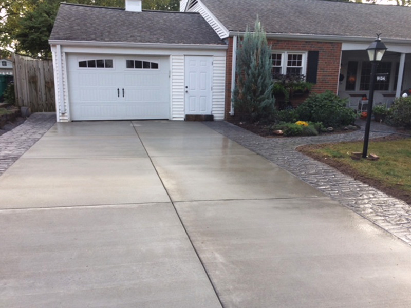 C and M Concrete Stamped Broom Swept Concrete-2