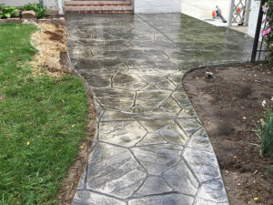 C and M Concrete Stamped Concrete Patio -2